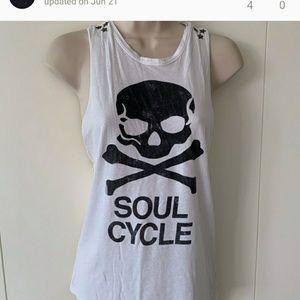 Soul cycle nike open back tank
